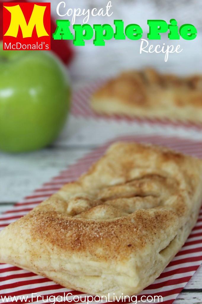 Mcdonalds Apple Pie Ingredients  Copycat McDonald s Apple Pie Recipe Baked Cinnamon Dessert