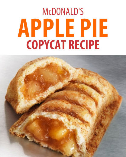 Mcdonalds Apple Pie Ingredients  McDonald s Apple Pie Recipe Coupons and Deals SavingsMania