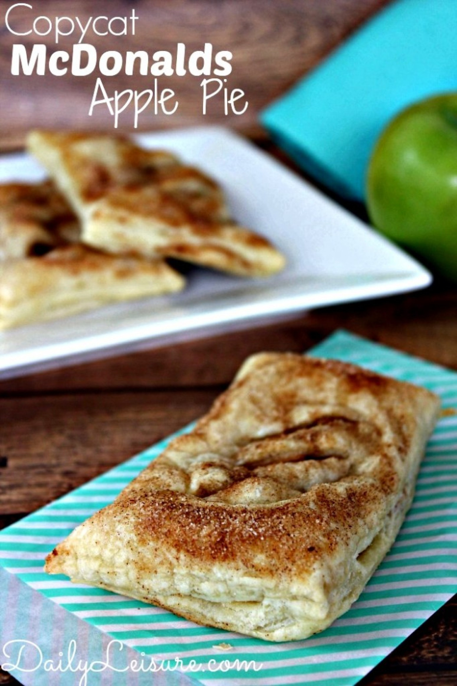 Mcdonalds Apple Pie Ingredients  Copycat McDonalds Apple Pie Recipe