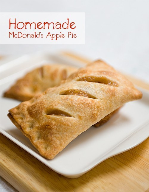 Mcdonalds Apple Pie Ingredients  Homemade McDonald s Apple Pie Yummy Workshop