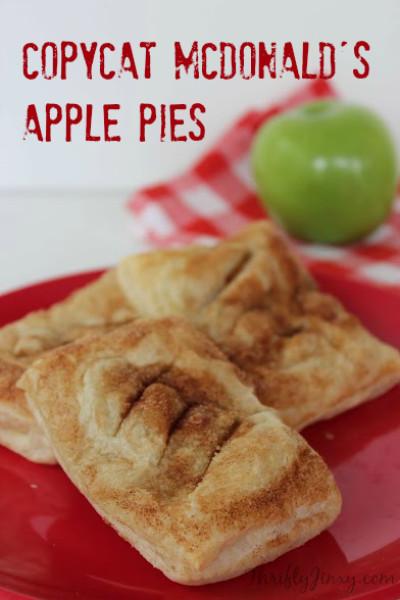 Mcdonalds Apple Pie Ingredients  Copycat McDonalds Apple Pie Recipe Thrifty Jinxy