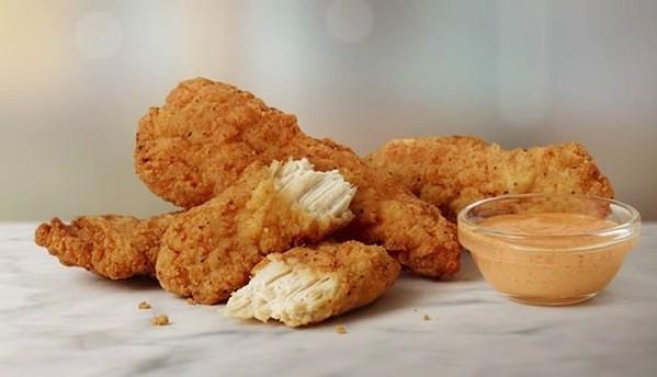Mcdonalds Chicken Tenders Nutrition  FAST FOOD NEWS McDonald s Buttermilk Crispy Chicken