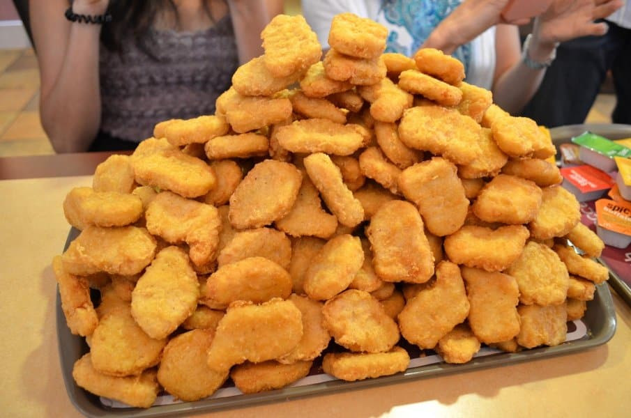 Mcdonalds Chicken Tenders Nutrition  10 Fast Food Items With Less Calories Than You Think