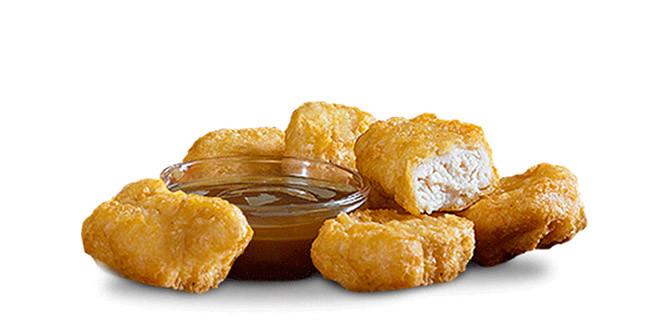 Mcdonalds Chicken Tenders Nutrition  Chicken McNug s