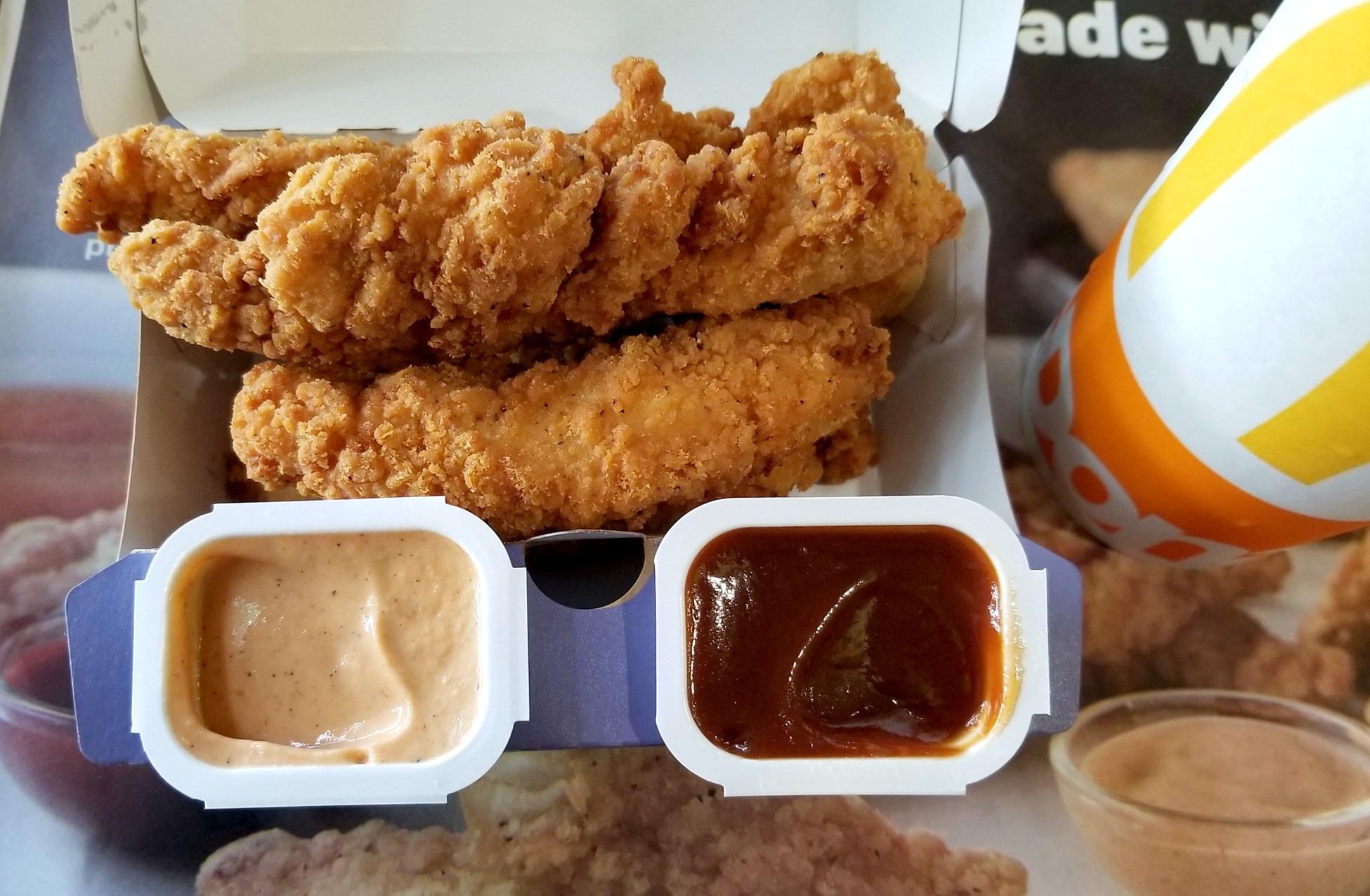 Mcdonalds Chicken Tenders Price  Review McDonald's New Buttermilk Crispy Tenders – Tasty