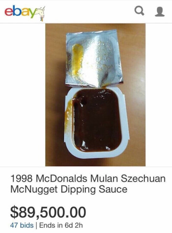 Mcdonalds Dipping Sauces  The Best Funny Today s Internet
