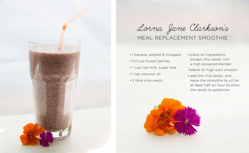 Meal Replacement Smoothie Recipes  Lorna s Fave Meal Replacement Smoothie Move Nourish Believe