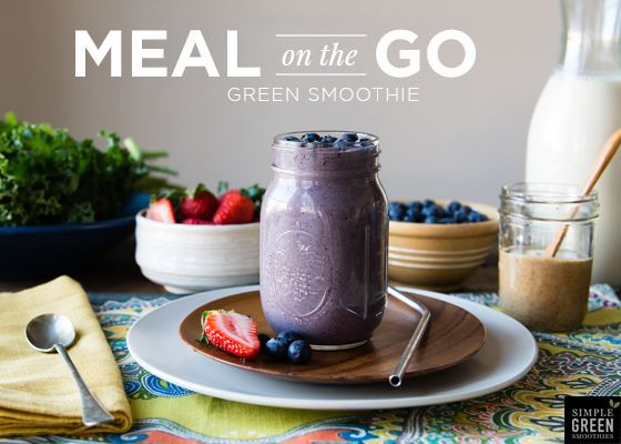 Meal Replacement Smoothies  Meal on the Go Green Smoothie Recipe