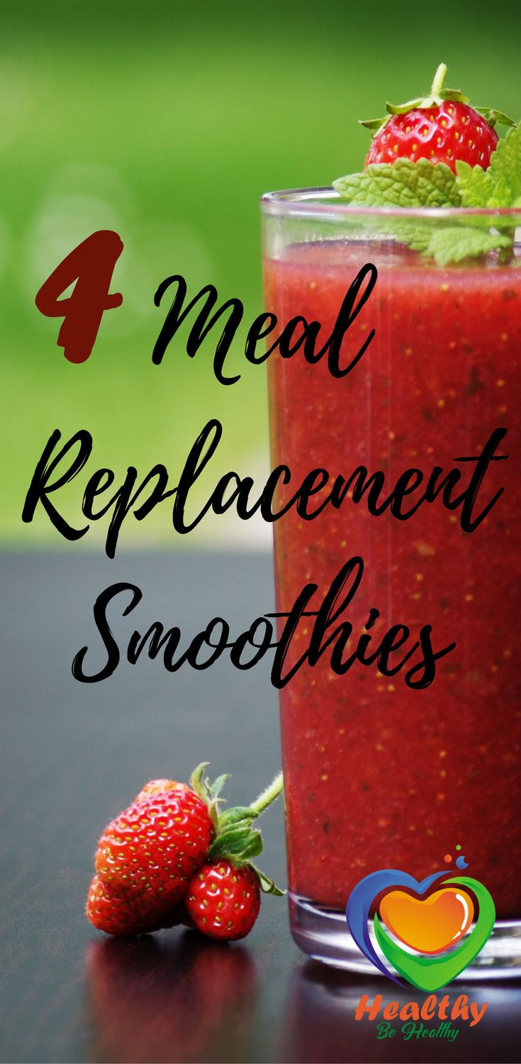 Meal Replacement Smoothies  22 best Shake Recipes images on Pinterest