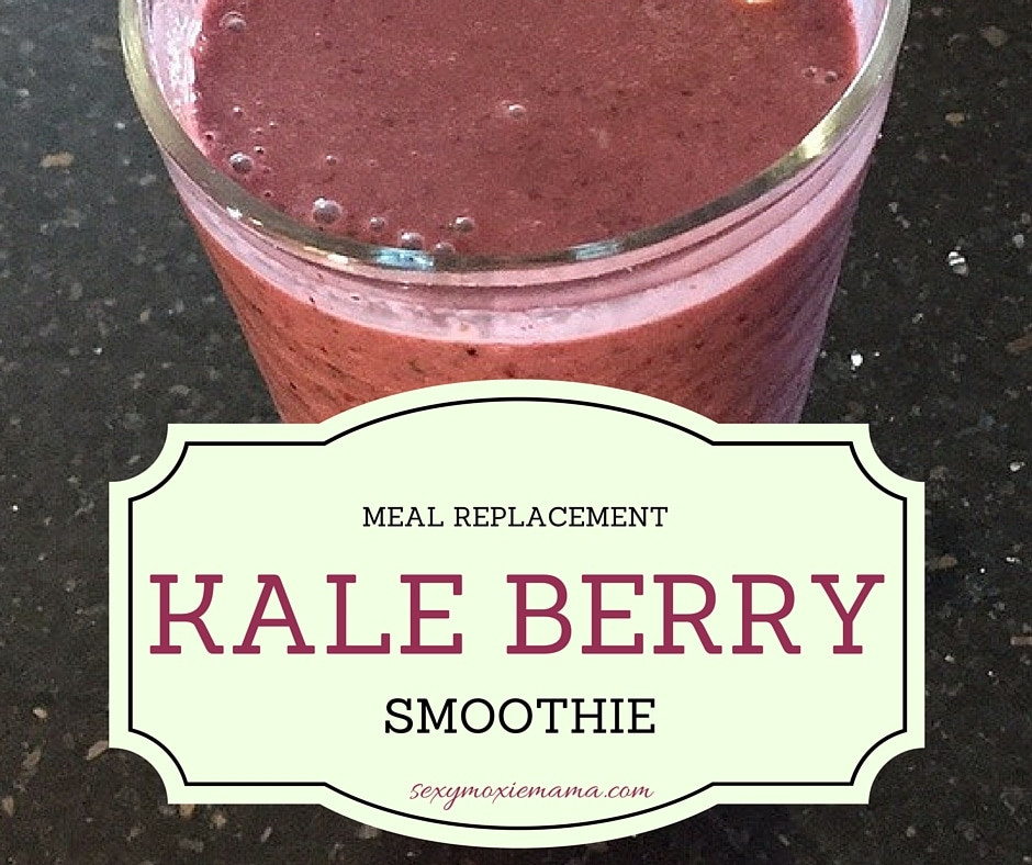 Meal Replacement Smoothies  Kale Berry Meal Replacement Smoothie