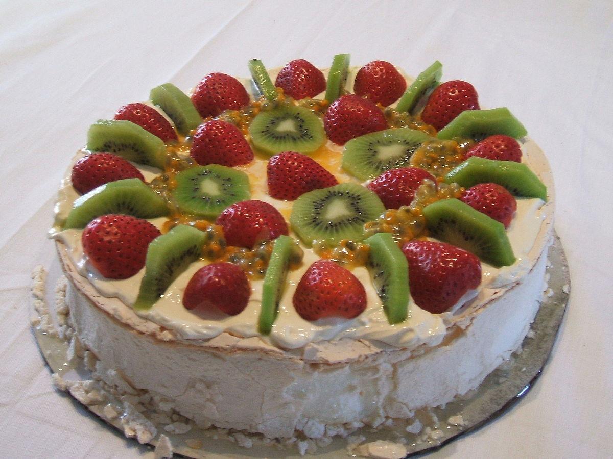 Meaning Of Dessert  Pavlova cake