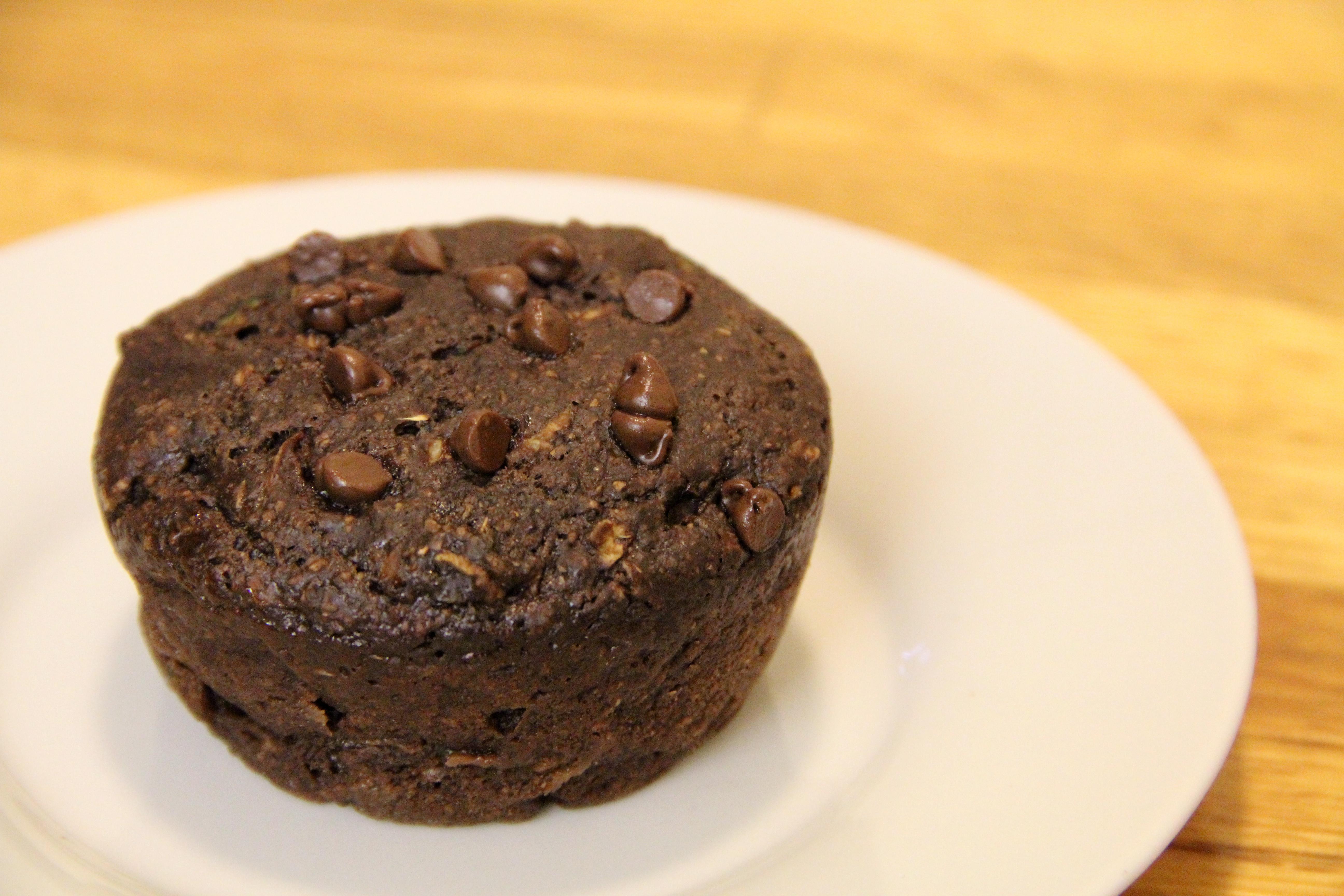 Meaning Of Dessert  Chocolate Zucchini Muffins