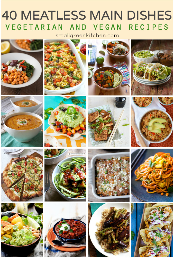 Meatless Main Dishes  40 Meatless Main Dishes