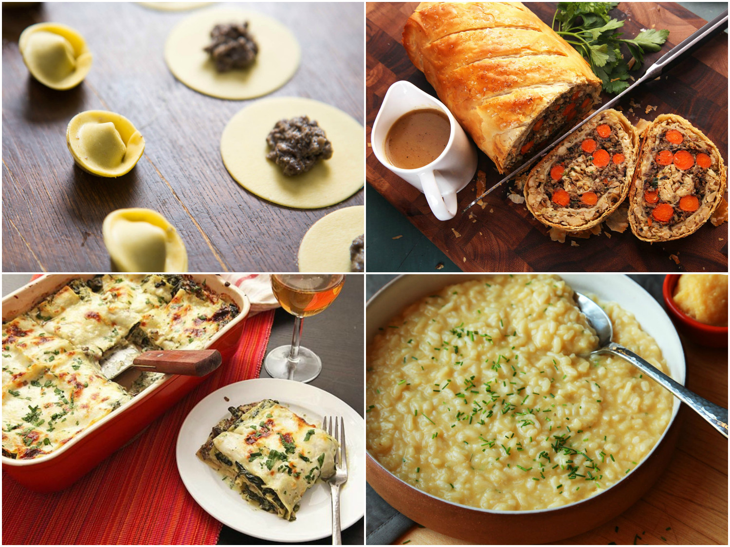 Meatless Main Dishes  13 Festive Ve arian Main Dishes That Even Omnivores Will