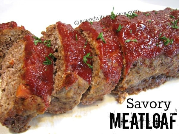 Meatloaf Sauce Recipe  The Best Meatloaf Beef & Turkey Spend With Pennies