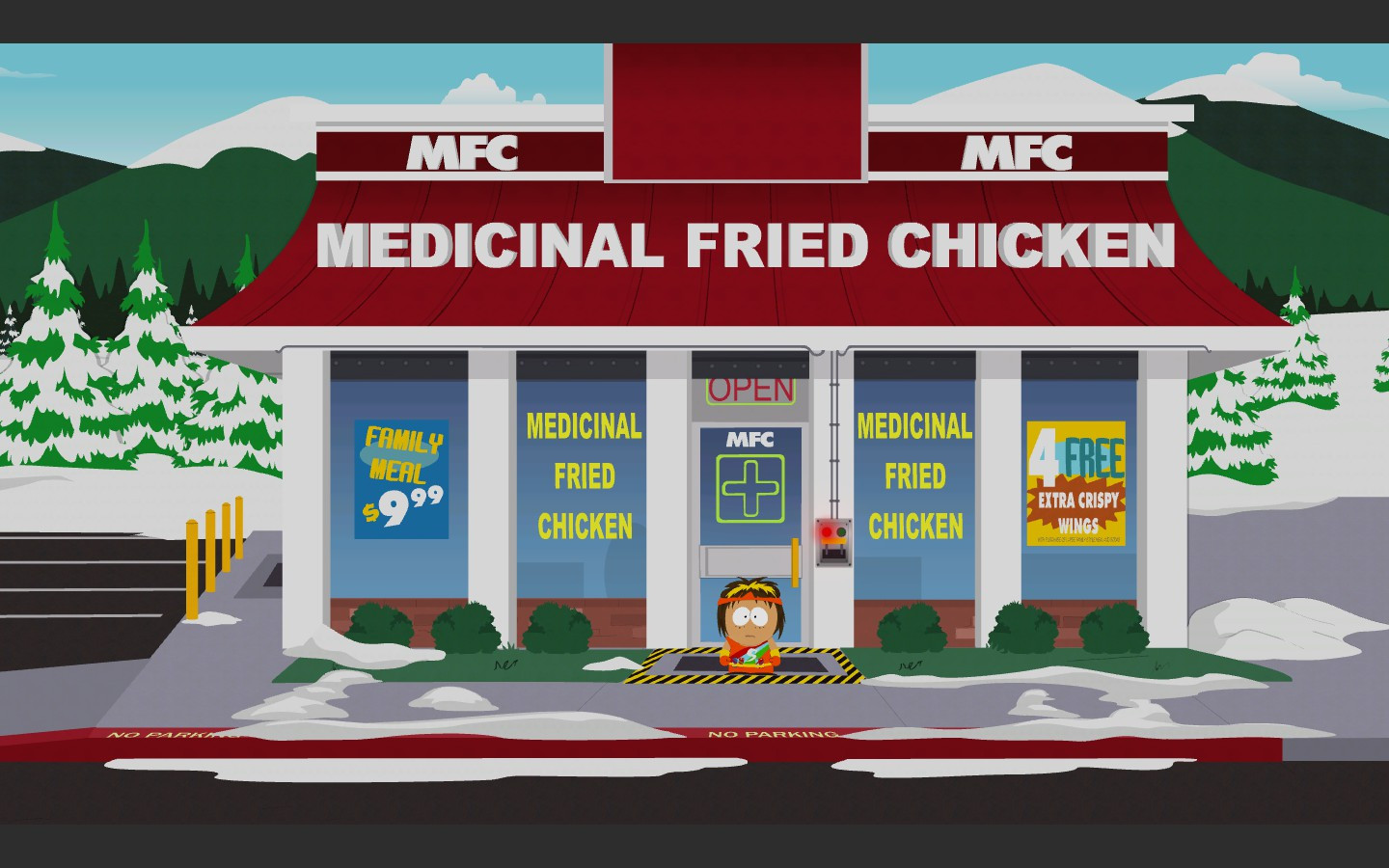 Medicinal Fried Chicken  Medicinal Fried Chicken