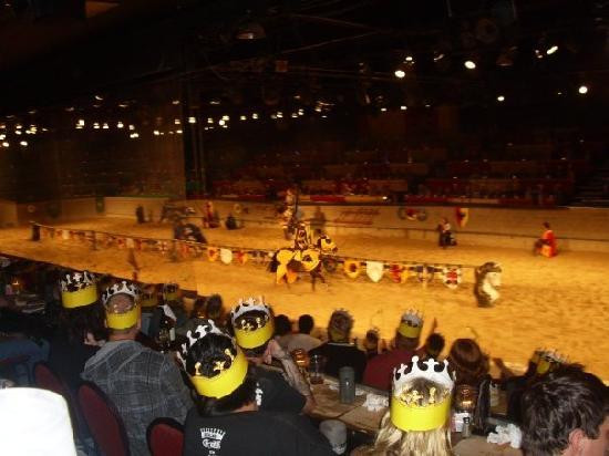 Medieval Times And Dinner  our Yellow knight won Picture of Me val Times