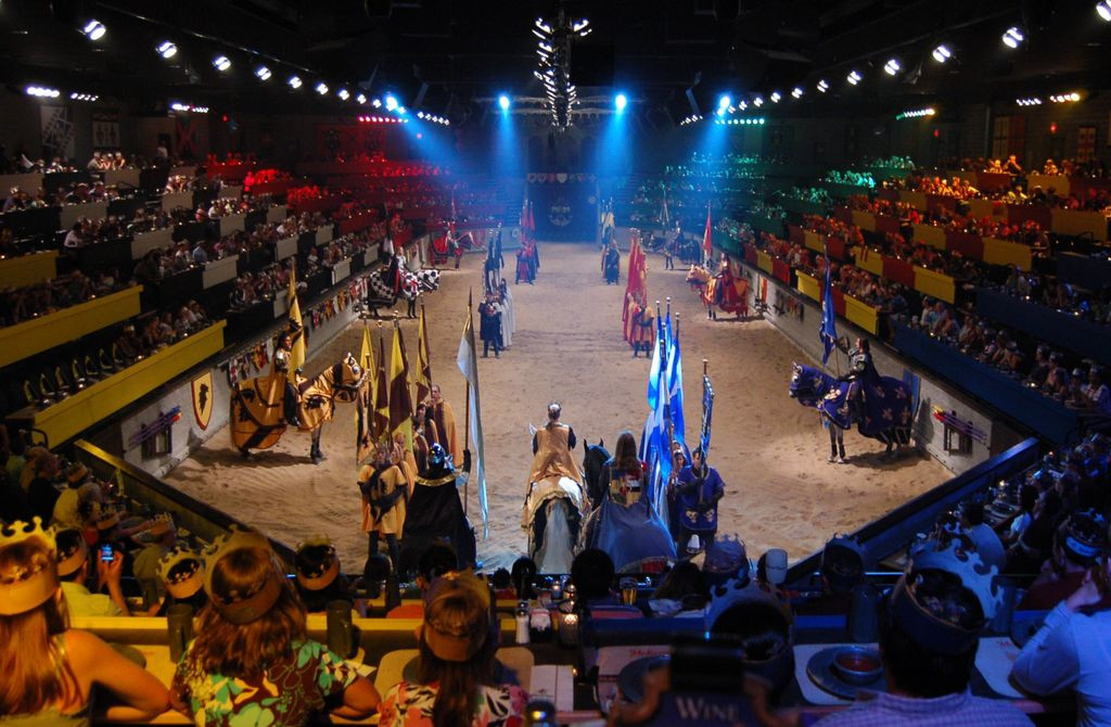 Medieval Times And Dinner  Me val Times to put on educational field trips