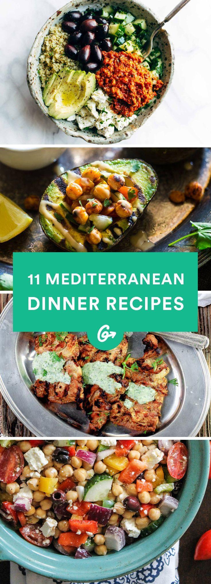 Mediterranean Dinner Recipe  13 Mediterranean Inspired Dinners to Spice Up Your
