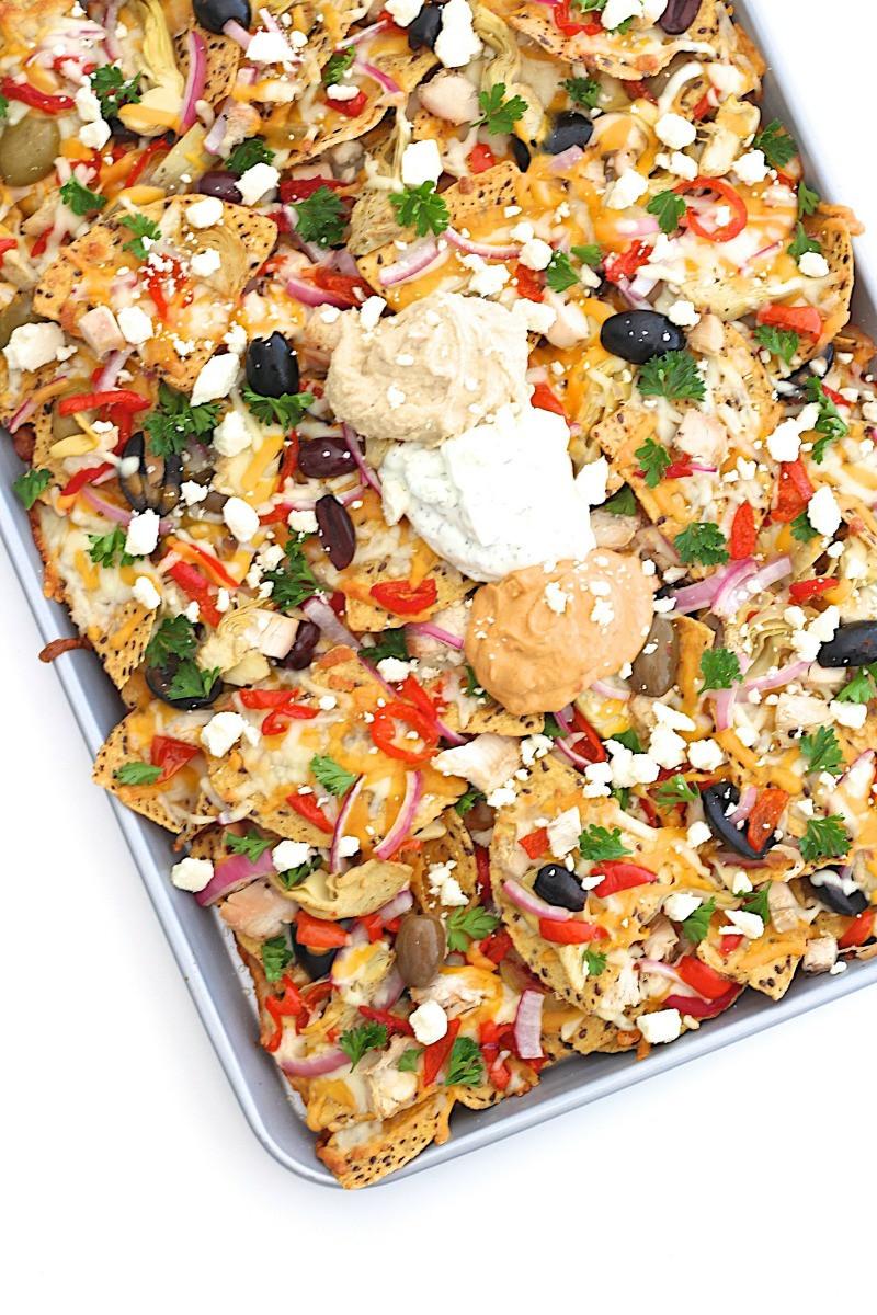 Mediterranean Dinner Recipe  Mediterranean Nachos