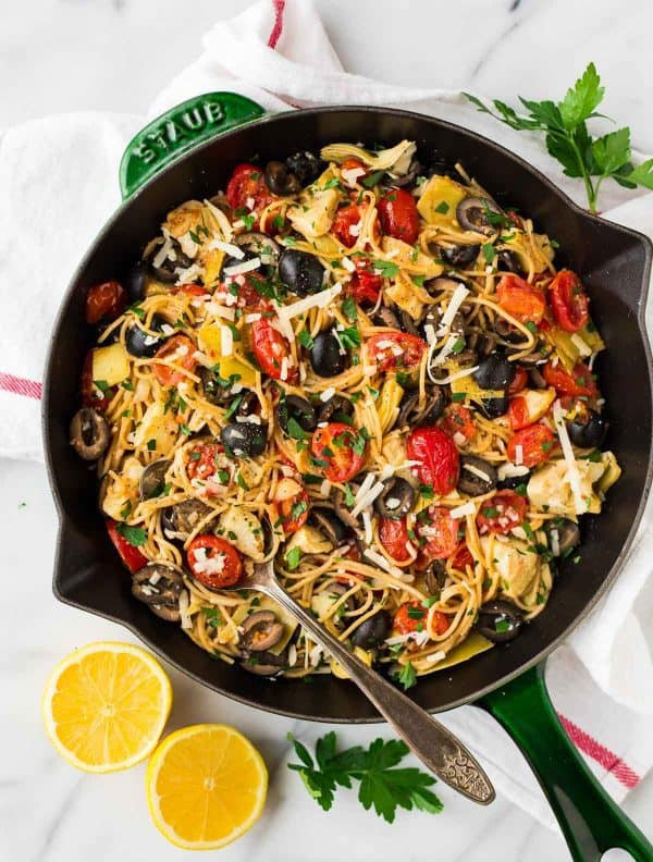 Mediterranean Dinner Recipe  Mediterranean Pasta