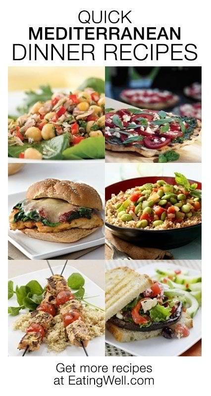 Mediterranean Dinner Recipe  Quick Mediterranean Dinner Recipes