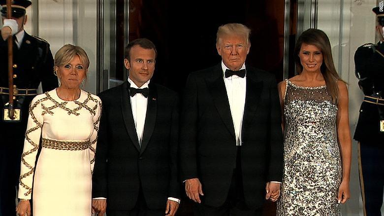 Melania Trump State Dinner  Melania Trump masters the moment CNNPolitics