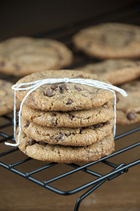 Melted Butter Chocolate Chip Cookies  Browned Butter Chocolate Chip Cookies