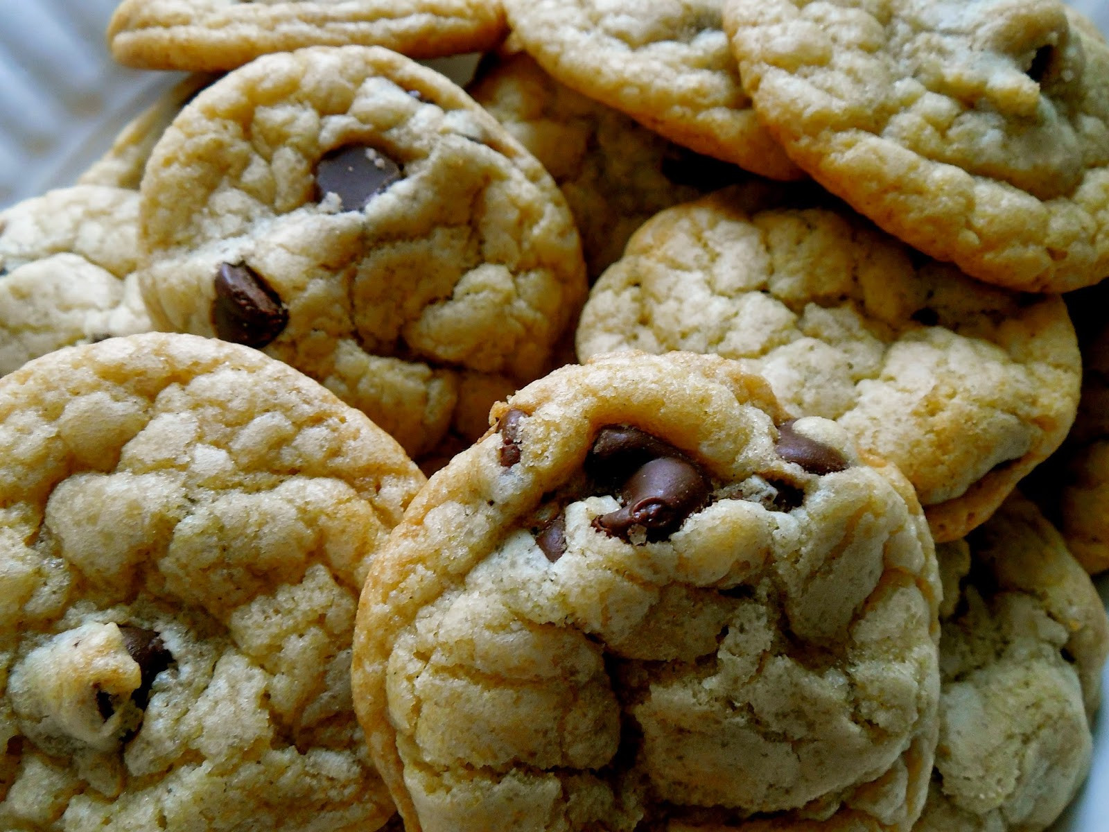 Melted Butter Chocolate Chip Cookies  Adirondack Baker Melted Butter Chocolate Chip Cookies