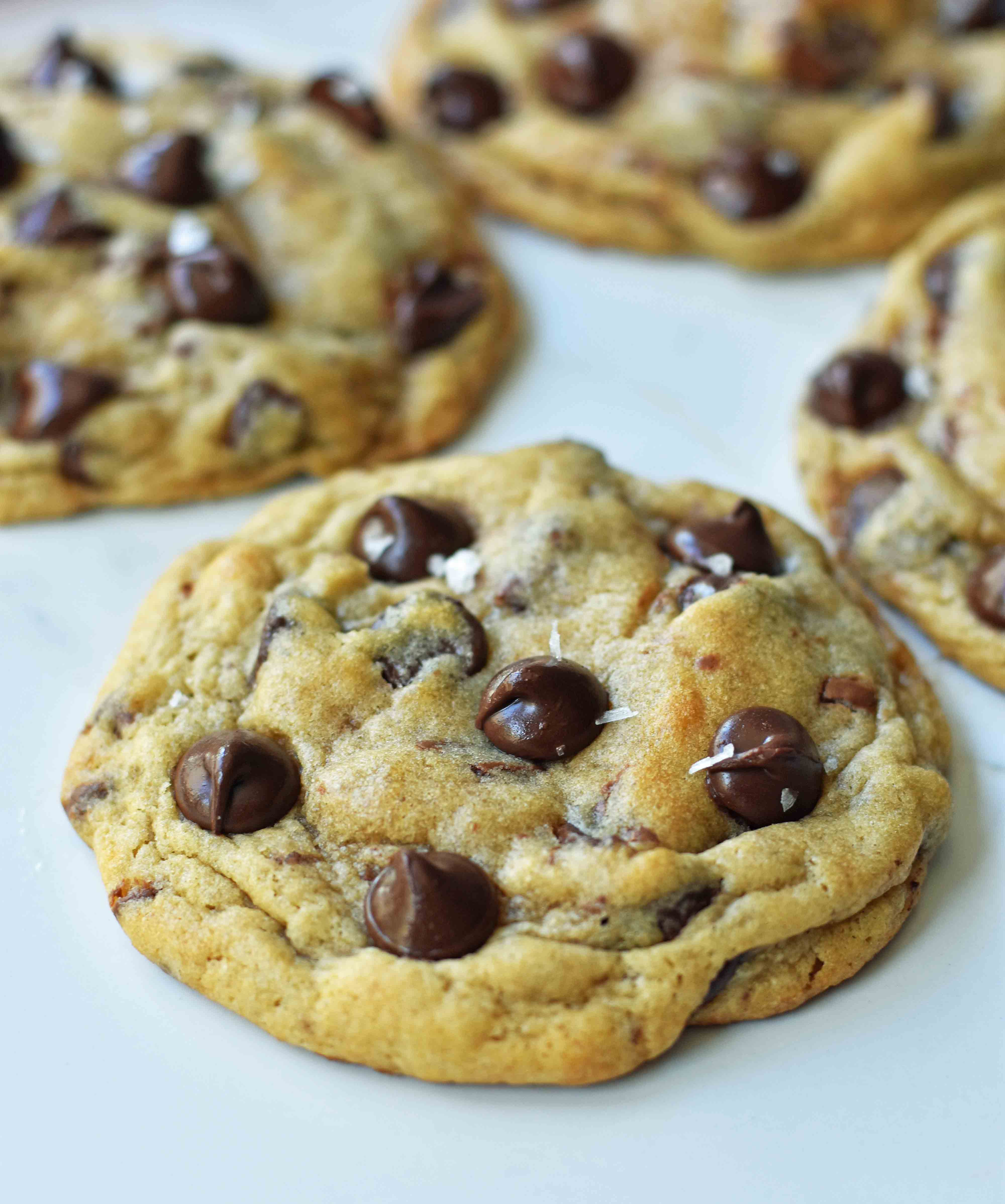 Melted Butter Chocolate Chip Cookies  Charmina s Chocolate Chip Cookies – Modern Honey
