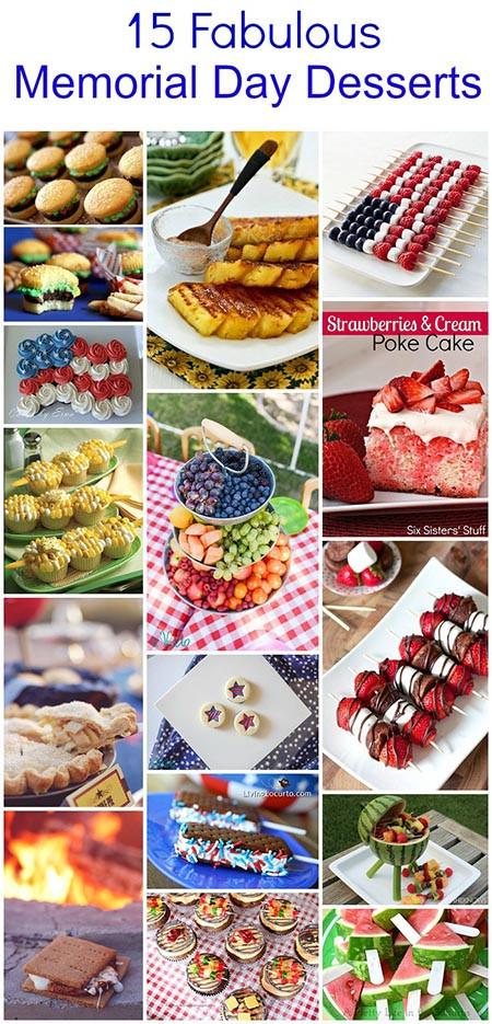 Memorial Day Desserts Ideas  15 Fabulous Memorial Day BBQ Dessert Ideas