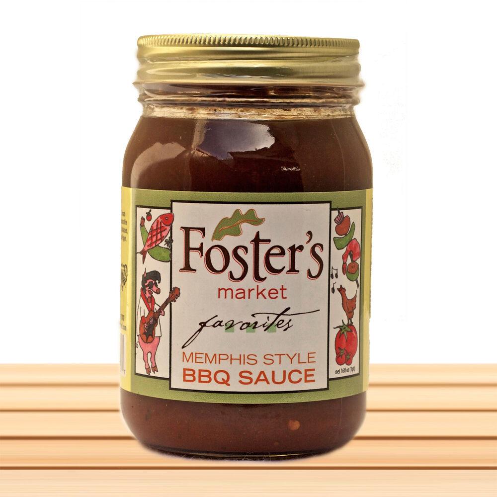 Memphis Style Bbq Sauce  Foster s Market Memphis Style BBQ Sauce