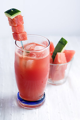 Mexican Alcoholic Drinks  Mexico My Plate Agua De Sandia Mexican Watermelon Drink
