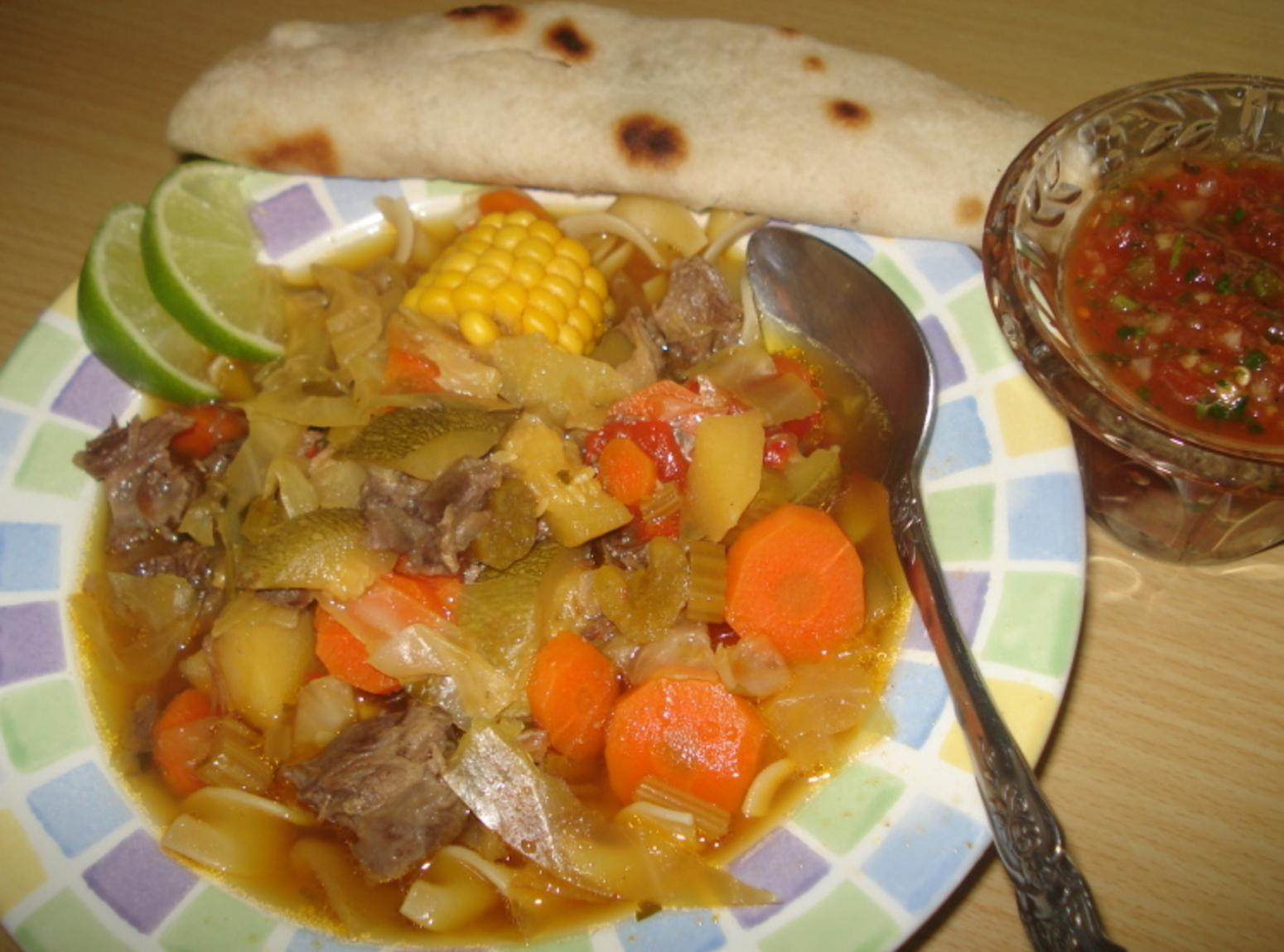 Mexican Beef Soup  Mexican Beef Ve able Soup Caldo Mexicano de Res y