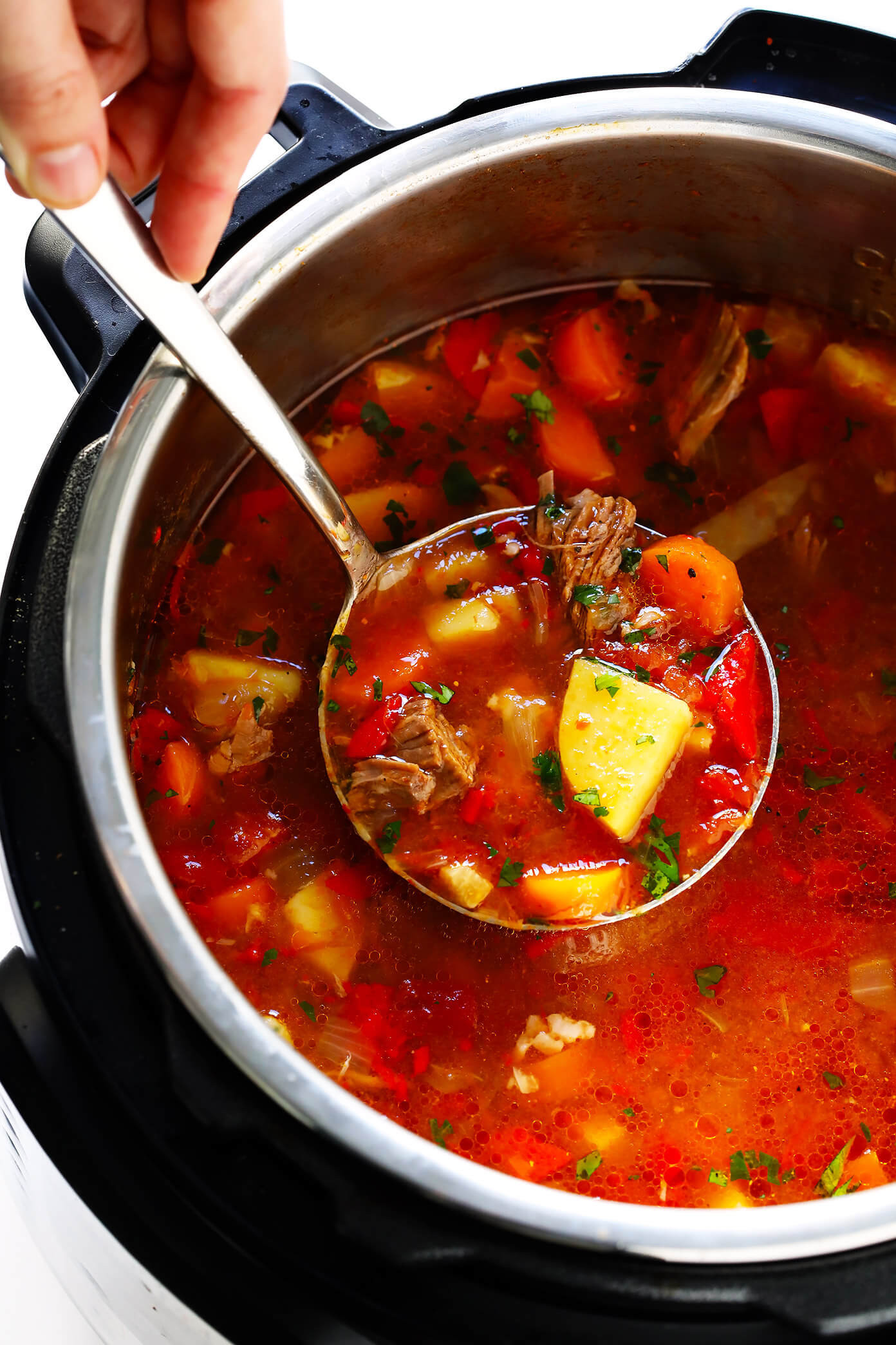 Mexican Beef Soup  Mexican Ve able Beef Soup