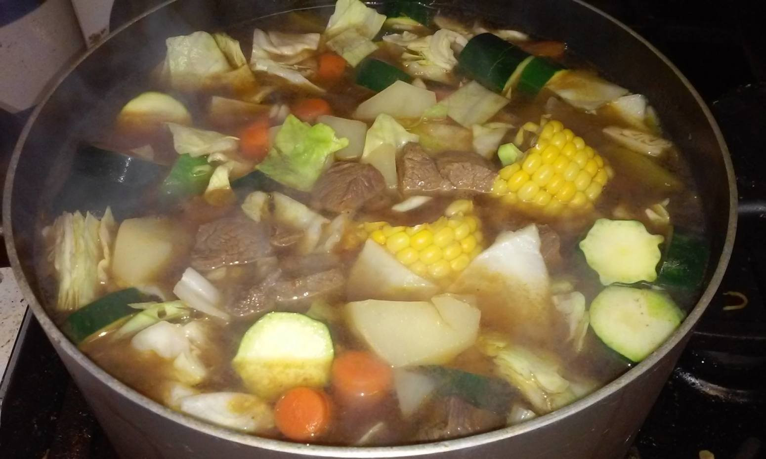 Mexican Beef Soup  Caldo de Res Mexican Style Beef Soup Recipe