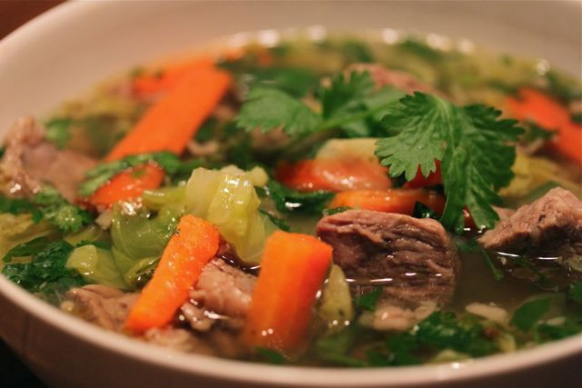 Mexican Beef Soup  Angie's Recipe of the Day Caldo De Res Mexican Beef Soup