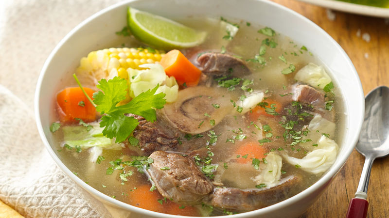 Mexican Beef Soup  Caldo de Res Mexican Beef Soup Recipe Tablespoon