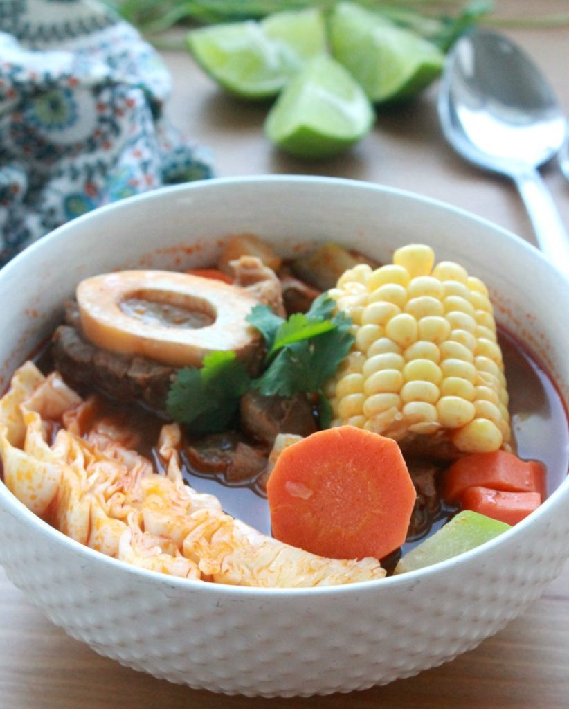 Mexican Beef Soup  Caldo de Res Mexican Beef Soup VIDEO