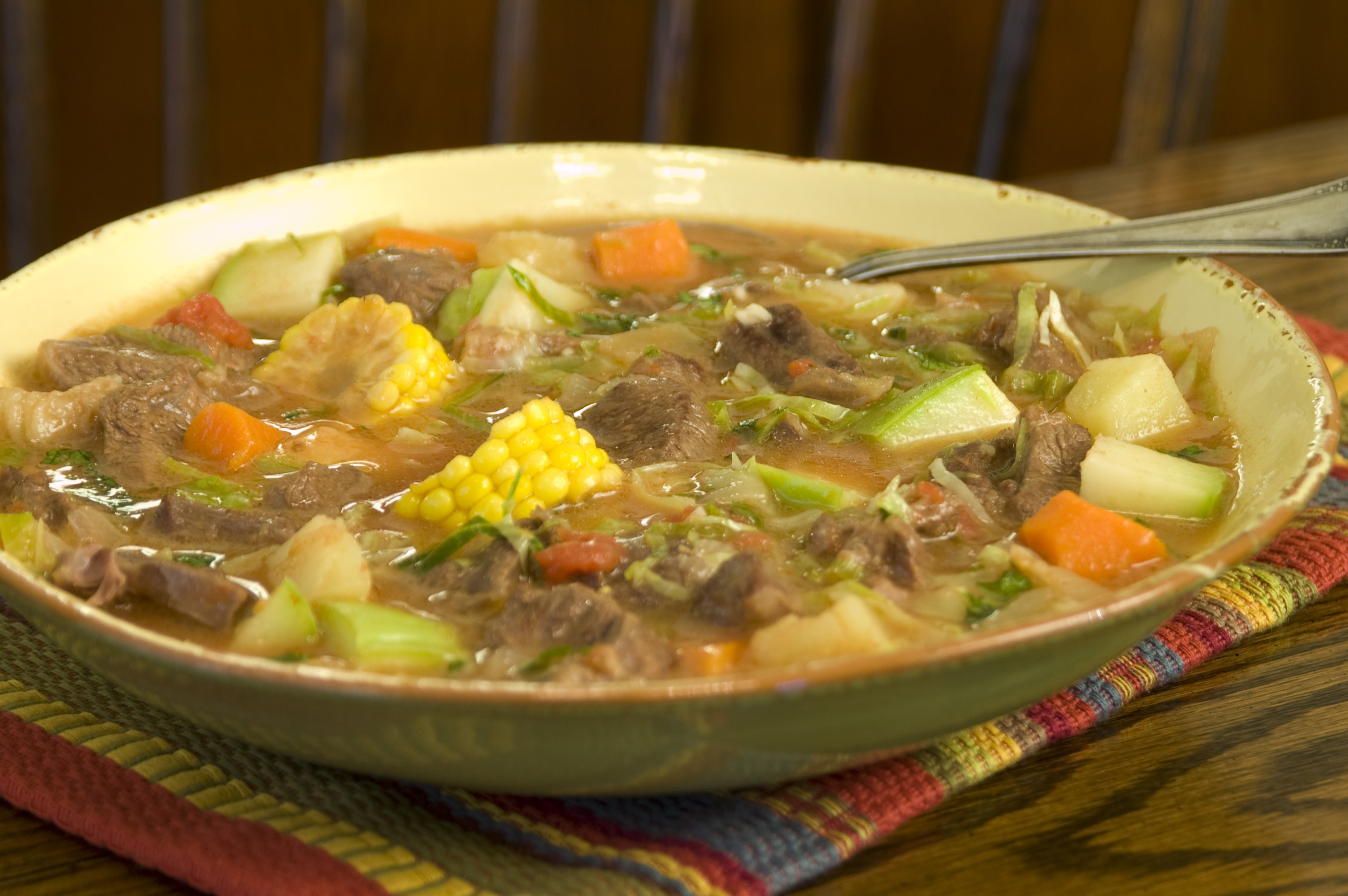 Mexican Beef Soup  Caldo De Res Recipe
