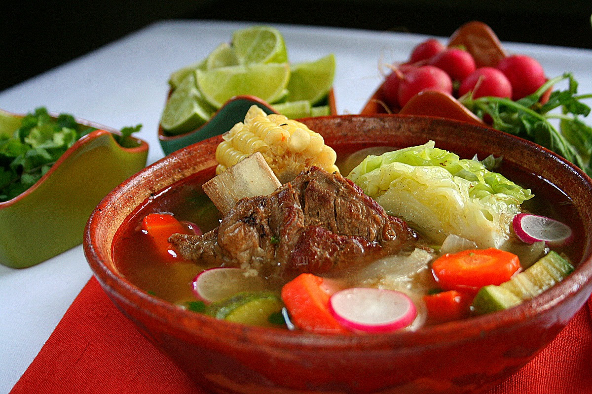 Mexican Beef Soup  WARM UP FOR NATIONAL SOUP MONTH WITH LATINOFOODIE S TOP 3
