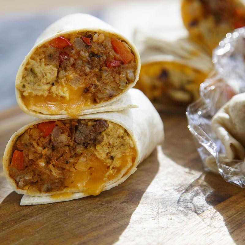 Mexican Breakfast Burritos  Mexican Breakfast Burritos Recipe