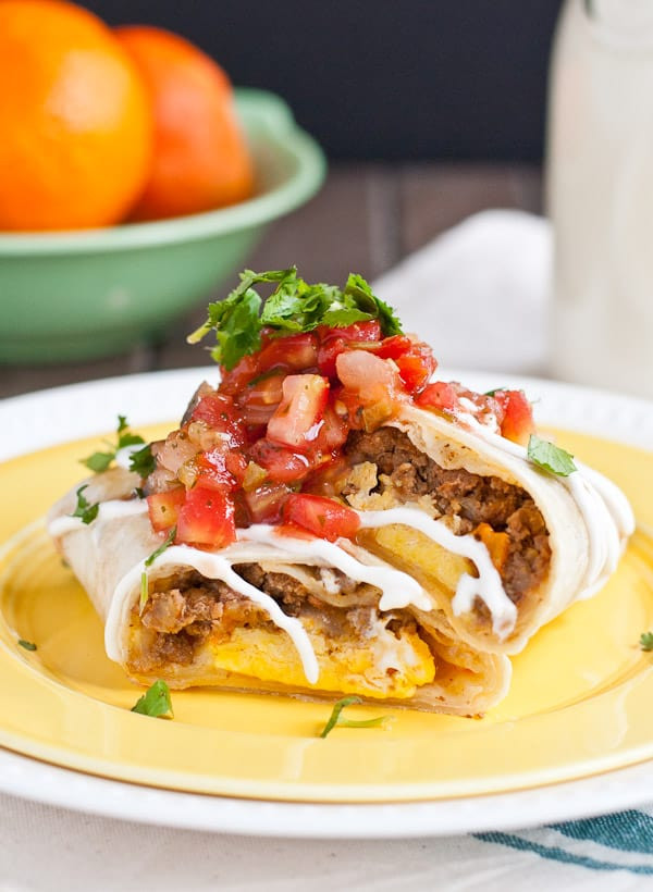Mexican Breakfast Burritos  Frozen Mexican Breakfast Burritos