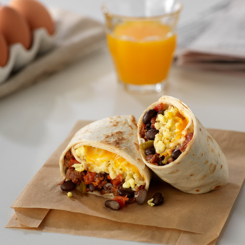 Mexican Breakfast Burritos  Mexican Breakfast Burritos