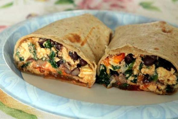 Mexican Breakfast Burritos  Mexican Egg Breakfast Burritos Recipe