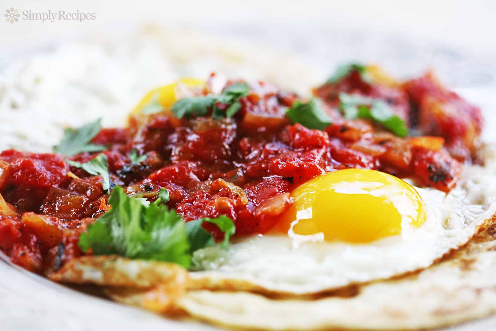 Mexican Breakfast Eggs  Huevos Rancheros Recipe