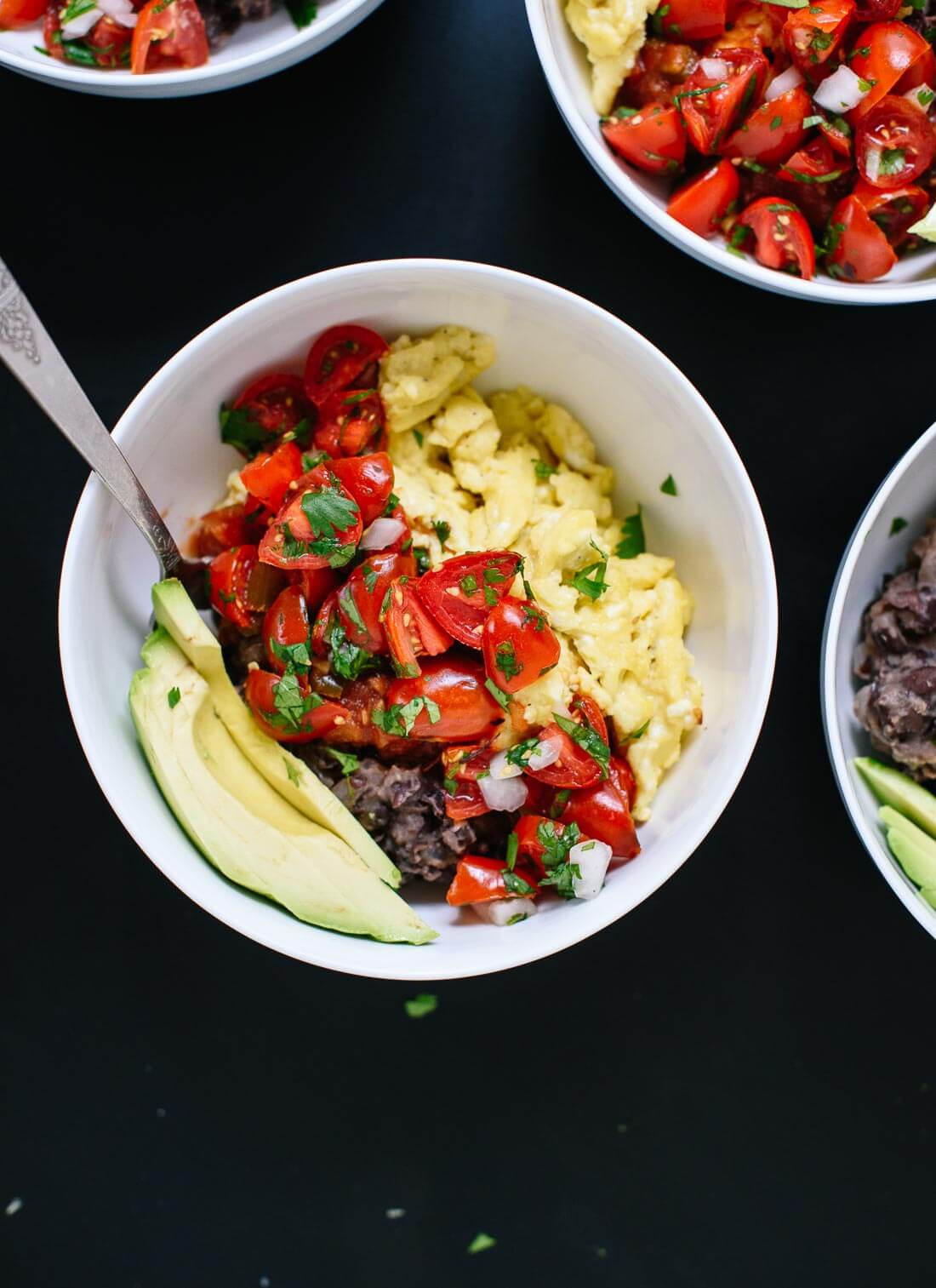 Mexican Breakfast Recipes  Tex Mex Breakfast Bowls Cookie and Kate