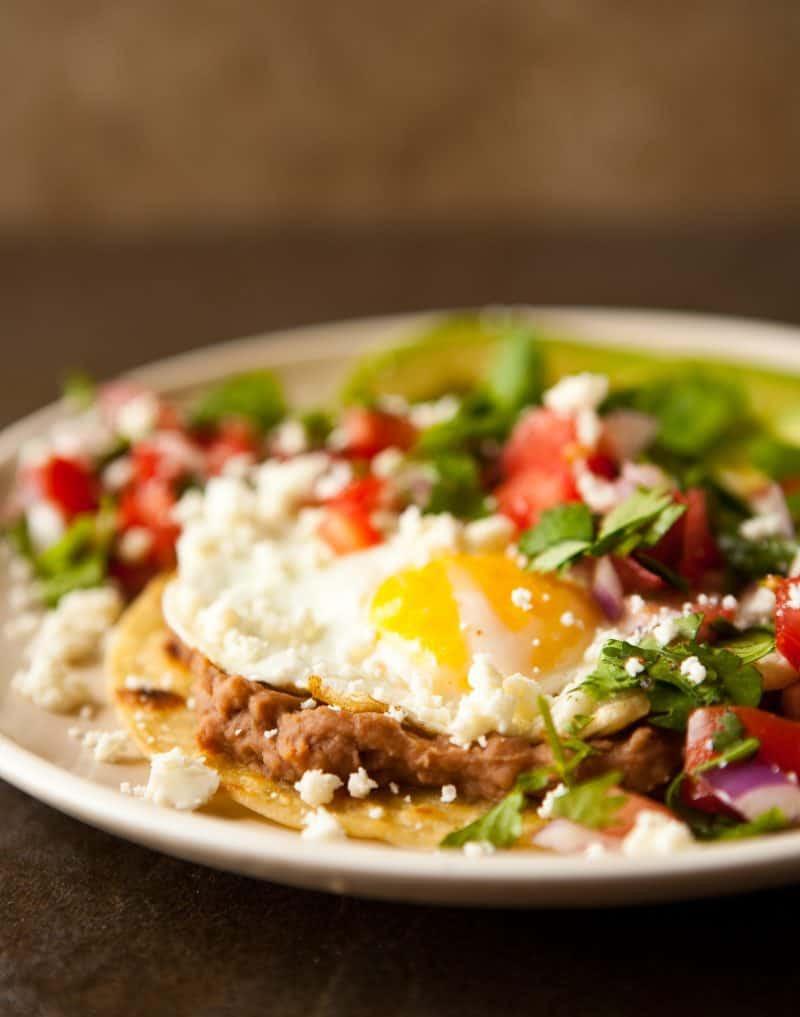 Mexican Breakfast Recipes  Eclectic Recipes Huevos Rancheros with Pico de Gallo