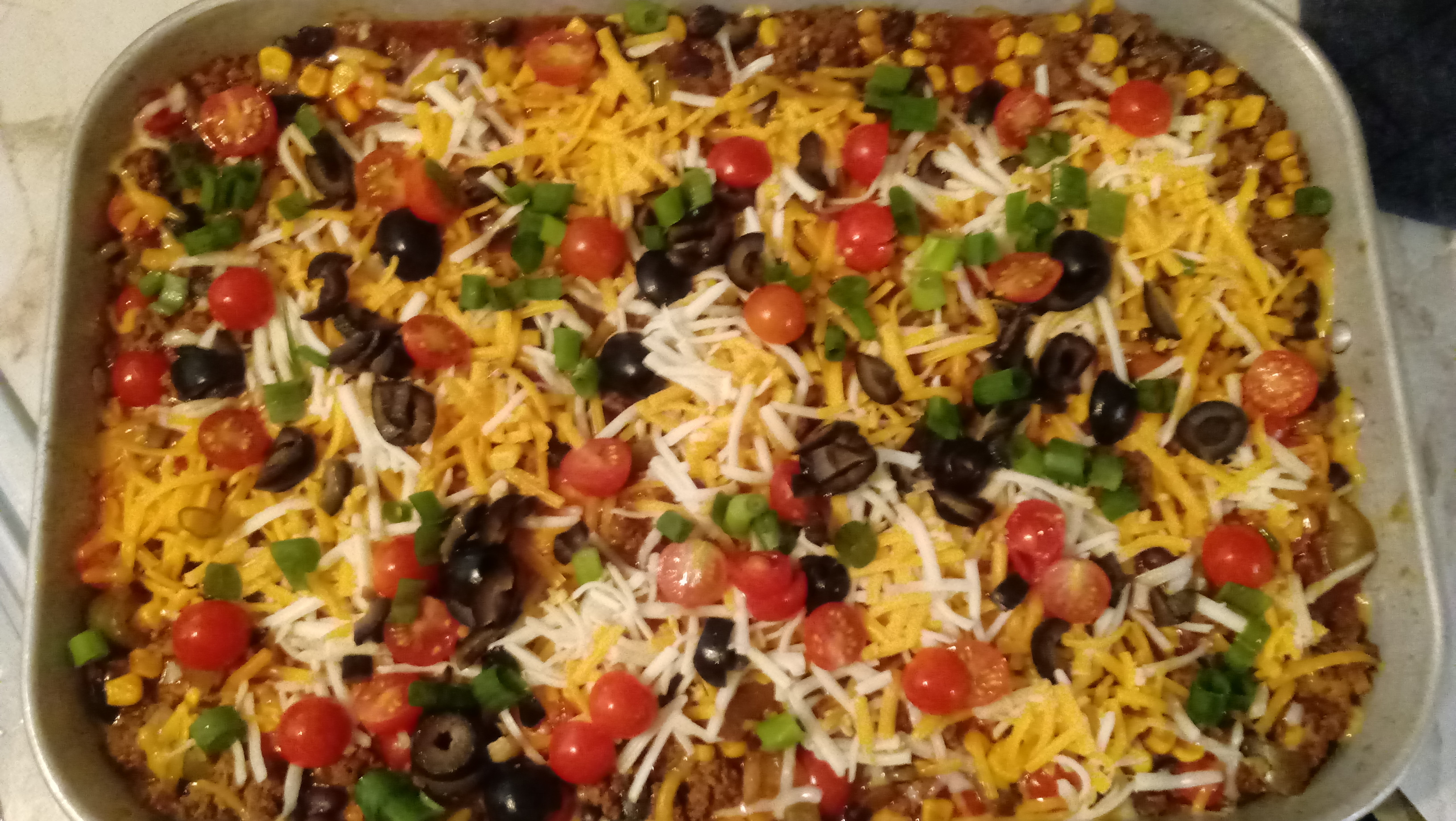 Mexican Casserole With Corn Tortillas  mexican beef casserole corn tortillas