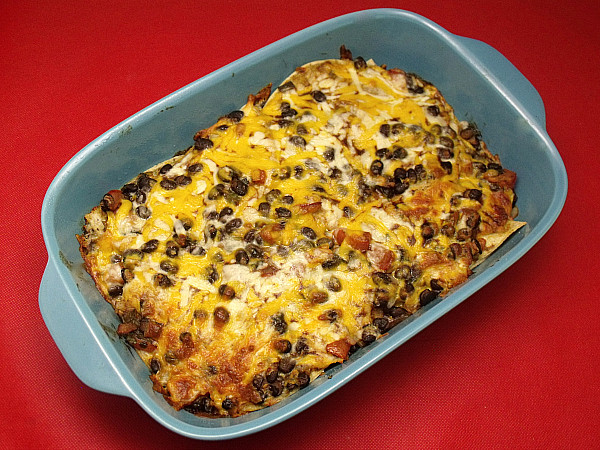 Mexican Casserole With Corn Tortillas  Ve arian Mexican Tortilla Casserole